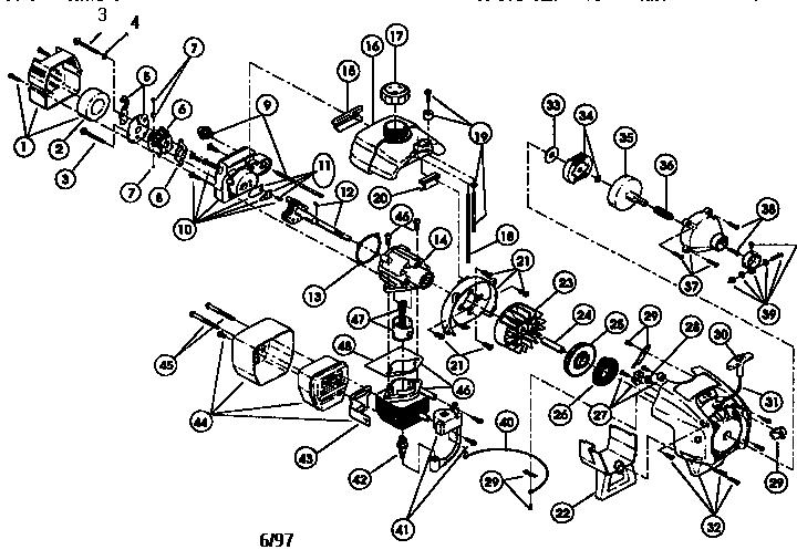 Wiring Diagram: 35 Ryobi Trimmer Parts Diagram