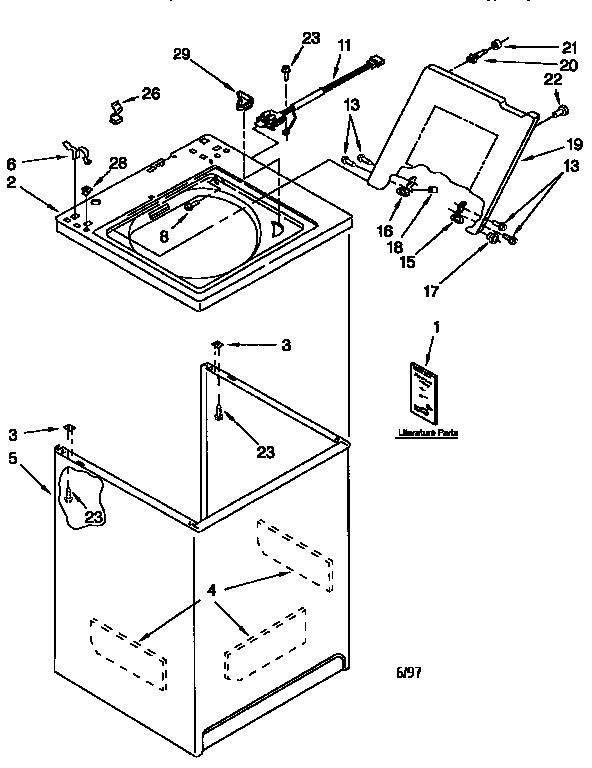 Kenmore Washer Motor Wiring Diagram