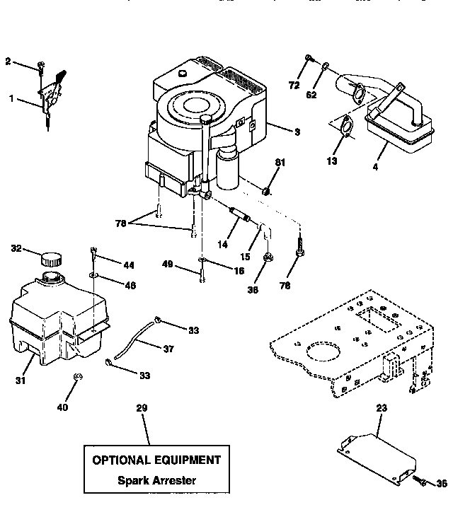 Auto Engine Diagram