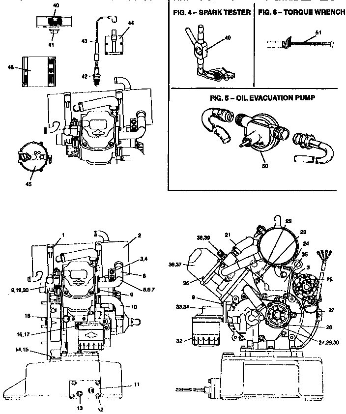 ENGINE BREAKDOWN Diagram & Parts List for Model e3ge036s01