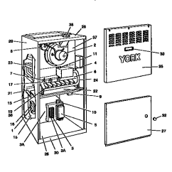 Intercity Furnace Parts Diagram Geo Delco Radio Wiring York - Circuit Symbols