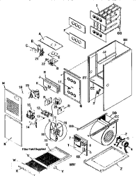 ARCOAIR COMFORTMAKER FURNACE Parts
