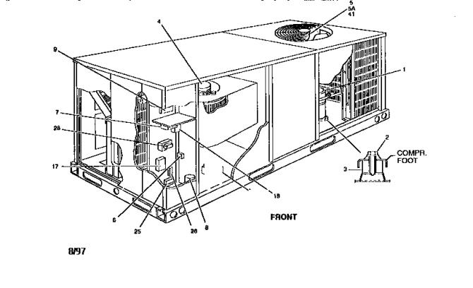 york air conditioner component diagram  schematic wiring
