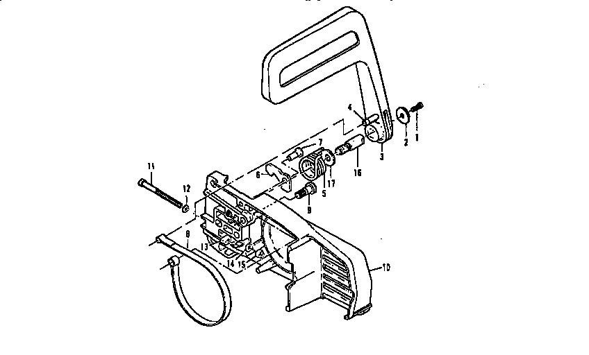 CHAIN BRAKE Diagram & Parts List for Model