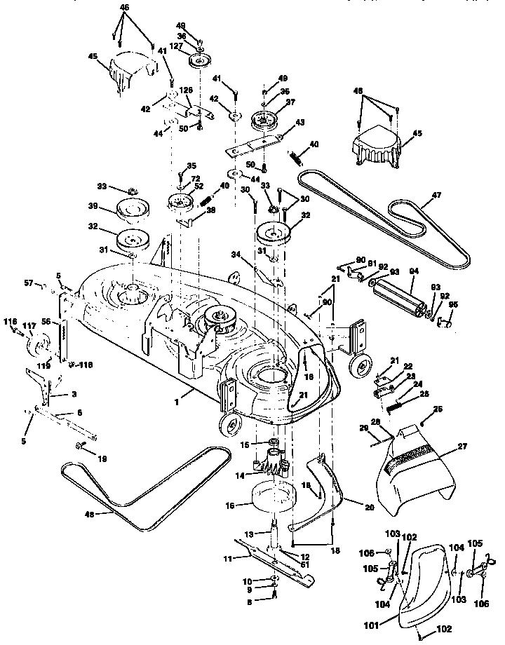 Craftsman Gt 3000 Parts Diagram, Craftsman, Get Free Image
