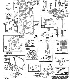 briggs stratton model 137202 1117 e1 engine genuine parts rh searspartsdirect com briggs and stratton engine [ 1717 x 2217 Pixel ]