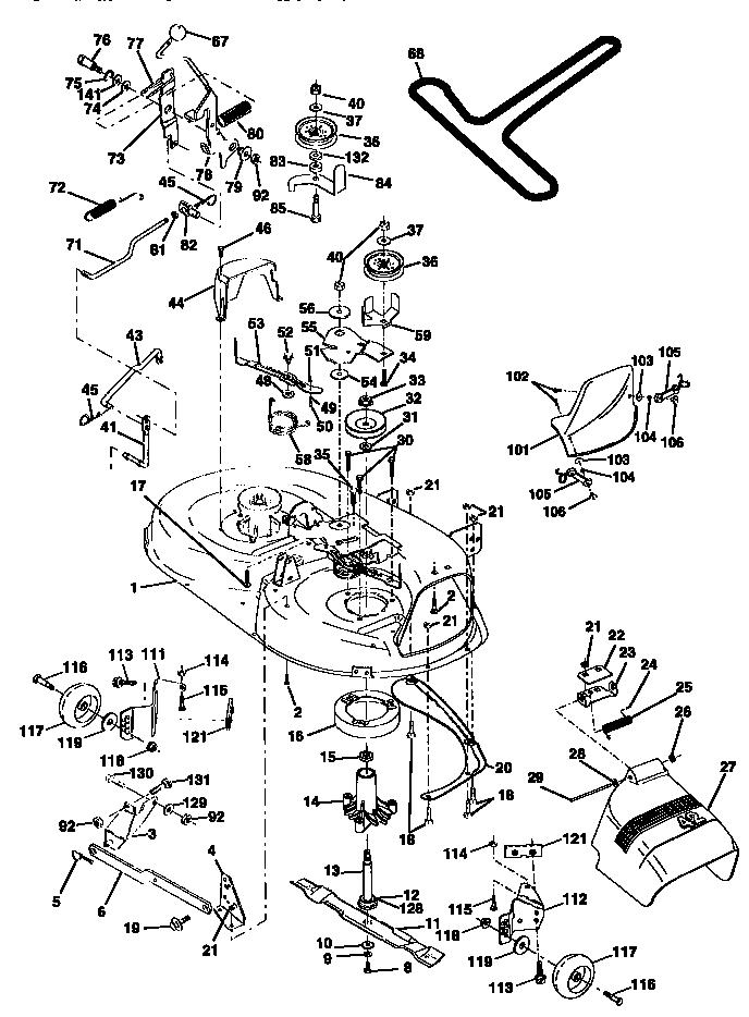 Craftsman Lawn Mower Model 917 Wiring Diagram Sears Rear