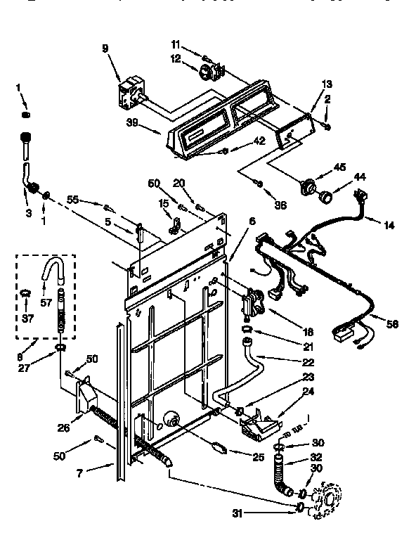 Sears kenmore washer parts manual