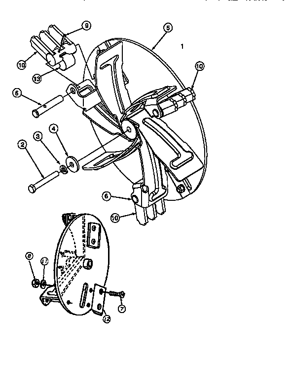 IMPELLER ASSEMBLY Diagram & Parts List for Model 247799630