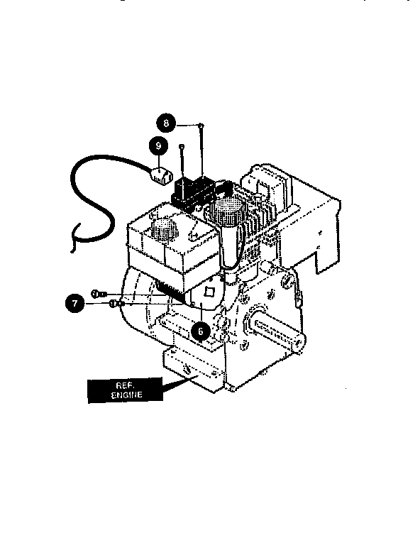 ELECTRIC START ASSEMBLY Diagram & Parts List for Model