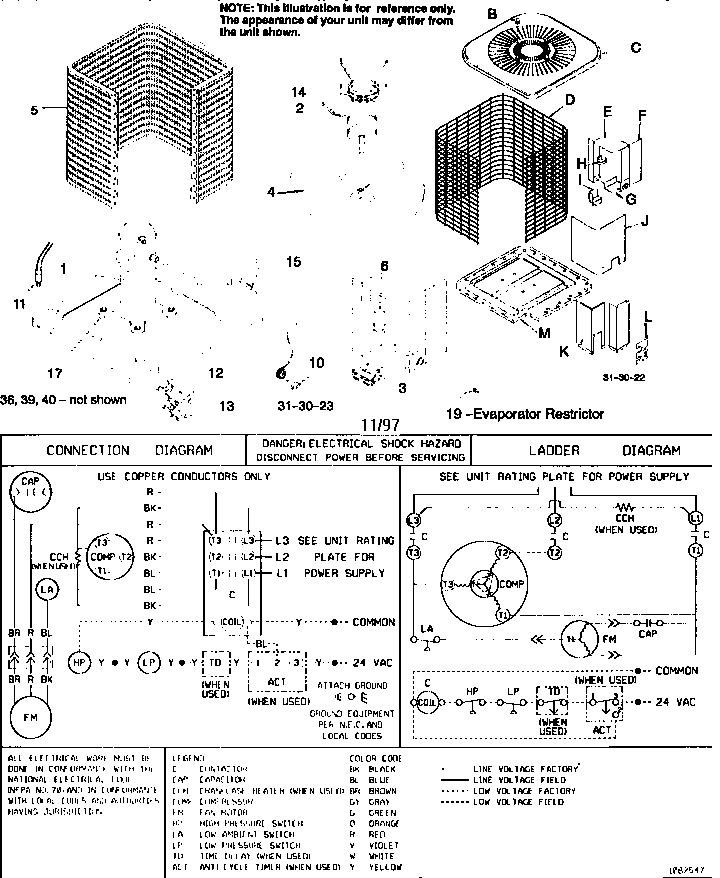 tempstar furnace parts diagram 1997 honda civic si stereo wiring icp heat pump contactor electrical ~ elsalvadorla