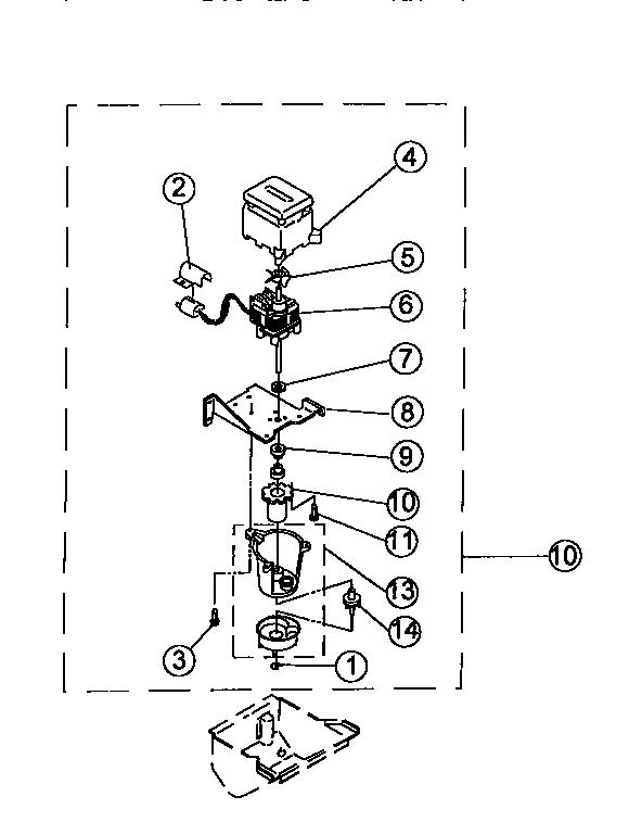 VIKING RANGE CORP. Ice Machine Evaporator/ice cutter gri