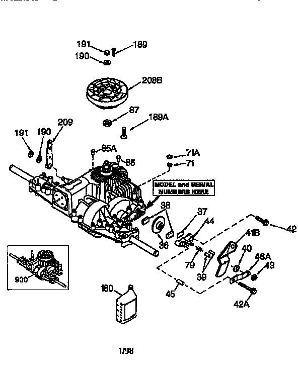 Craftsman Ltx 1000 Engine Diagram