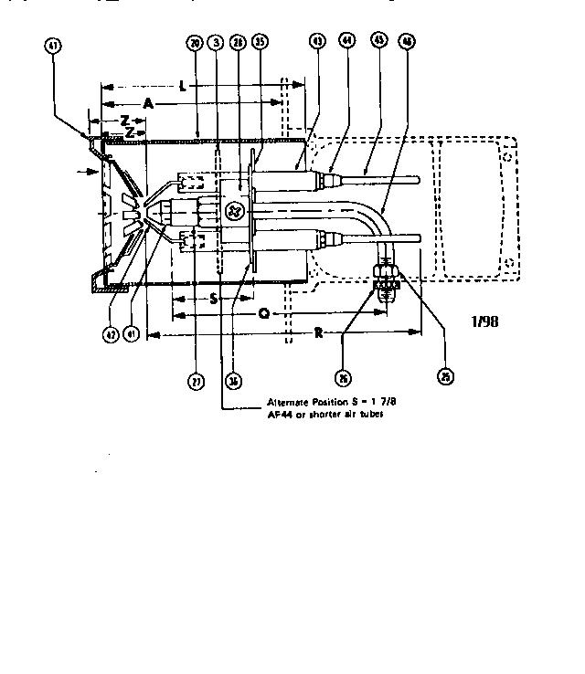beckett af oil burner furnace parts  sears partsdirect