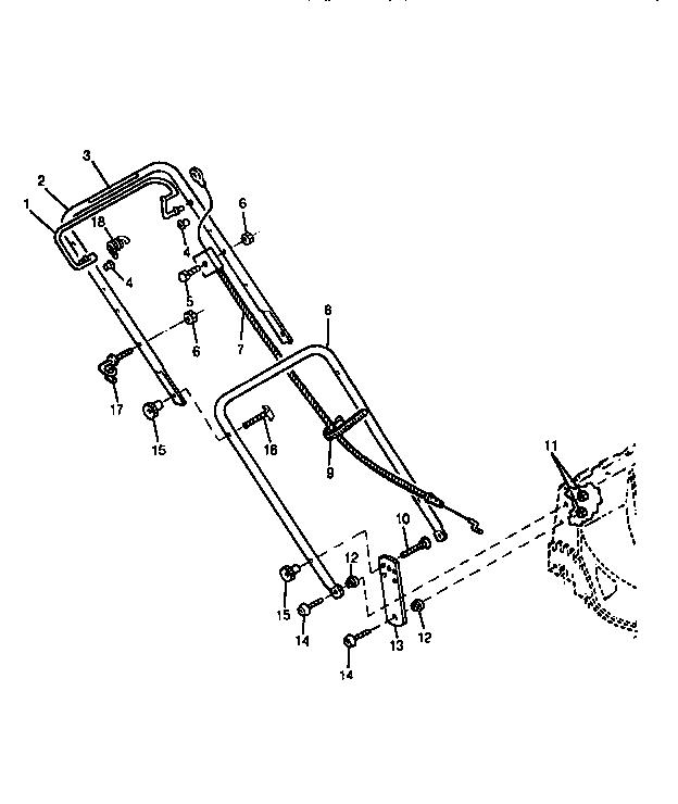 HANDLES Diagram & Parts List for Model 14PS Sabre-john