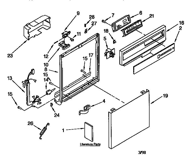 kitchenaid dishwasher electrical wiring diagram
