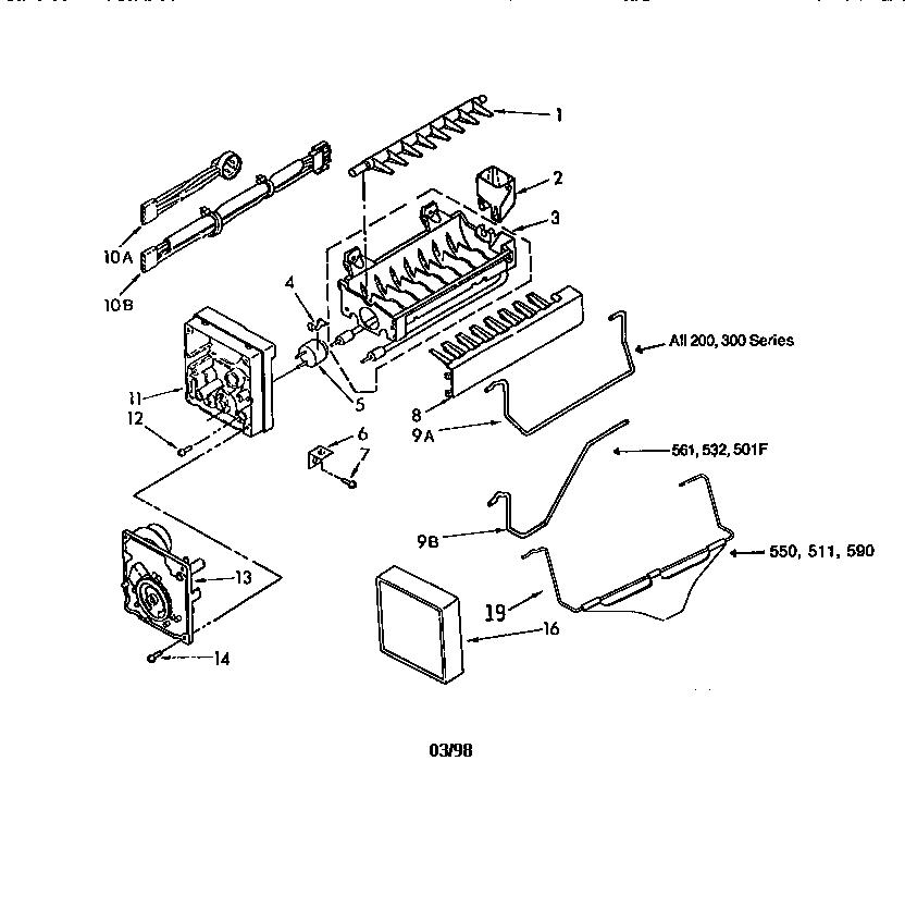 Samsung Ice Maker Schematic GE Refrigerator Schematic
