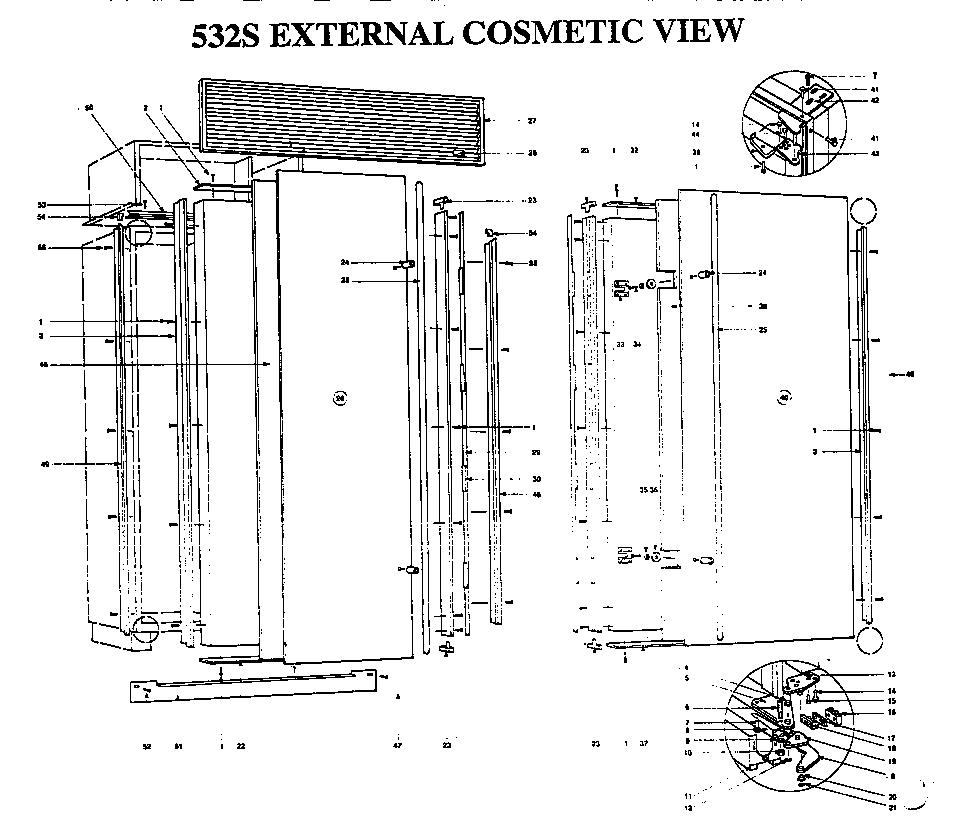Sub Zero: Parts For Sub Zero 550