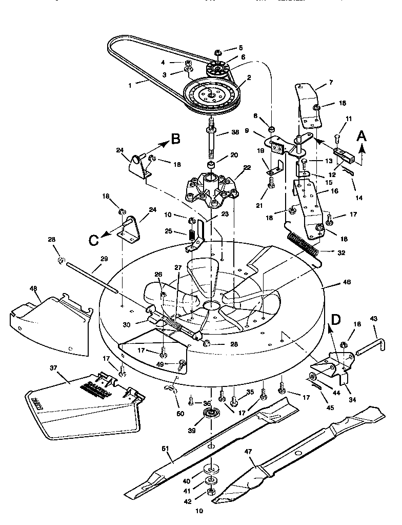 medium resolution of craftsman riding lawn mower diagram