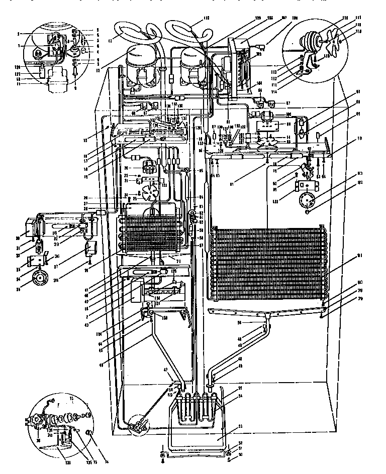 MODEL 542 SYSTEM VIEW Diagram & Parts List for Model 542