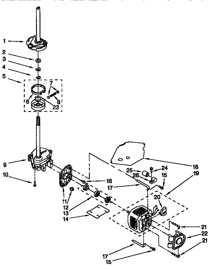 Kenmore Model 110 Parts Diagram, Kenmore, Free Engine