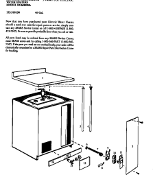 looking for kenmore model 153318130 electric water heater repair replacement parts  [ 848 x 1034 Pixel ]