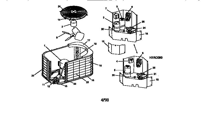 Air Conditioning Unit: York Air Conditioning Unit Parts
