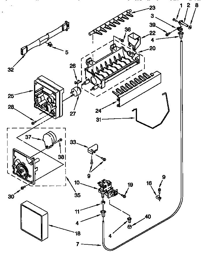 Kenmore Icemaker Wiring Diagram