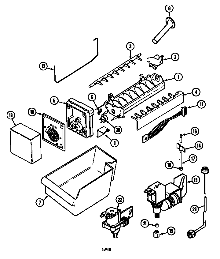 Bar Refaeli Buzz: Ice Maker Wiring Diagram