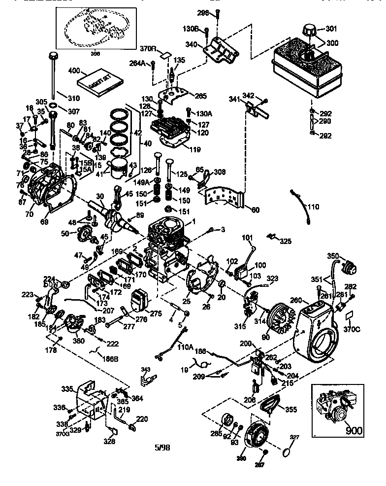 Bestseller: Tecumseh Engine Parts Manual