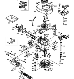 riding lawn mower engine diagram [ 816 x 1015 Pixel ]