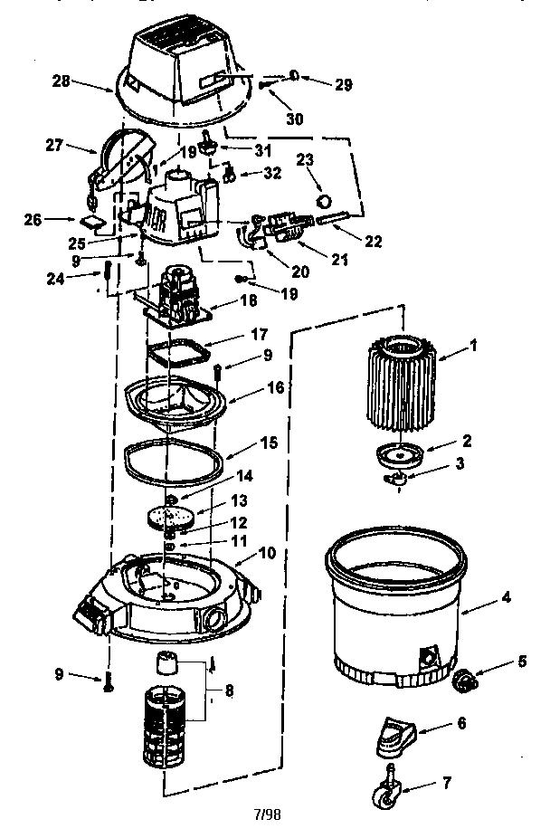 Vacuum Parts: Craftsman Vacuum Parts