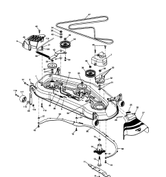 husqvarna riding mower part diagram [ 1696 x 2200 Pixel ]