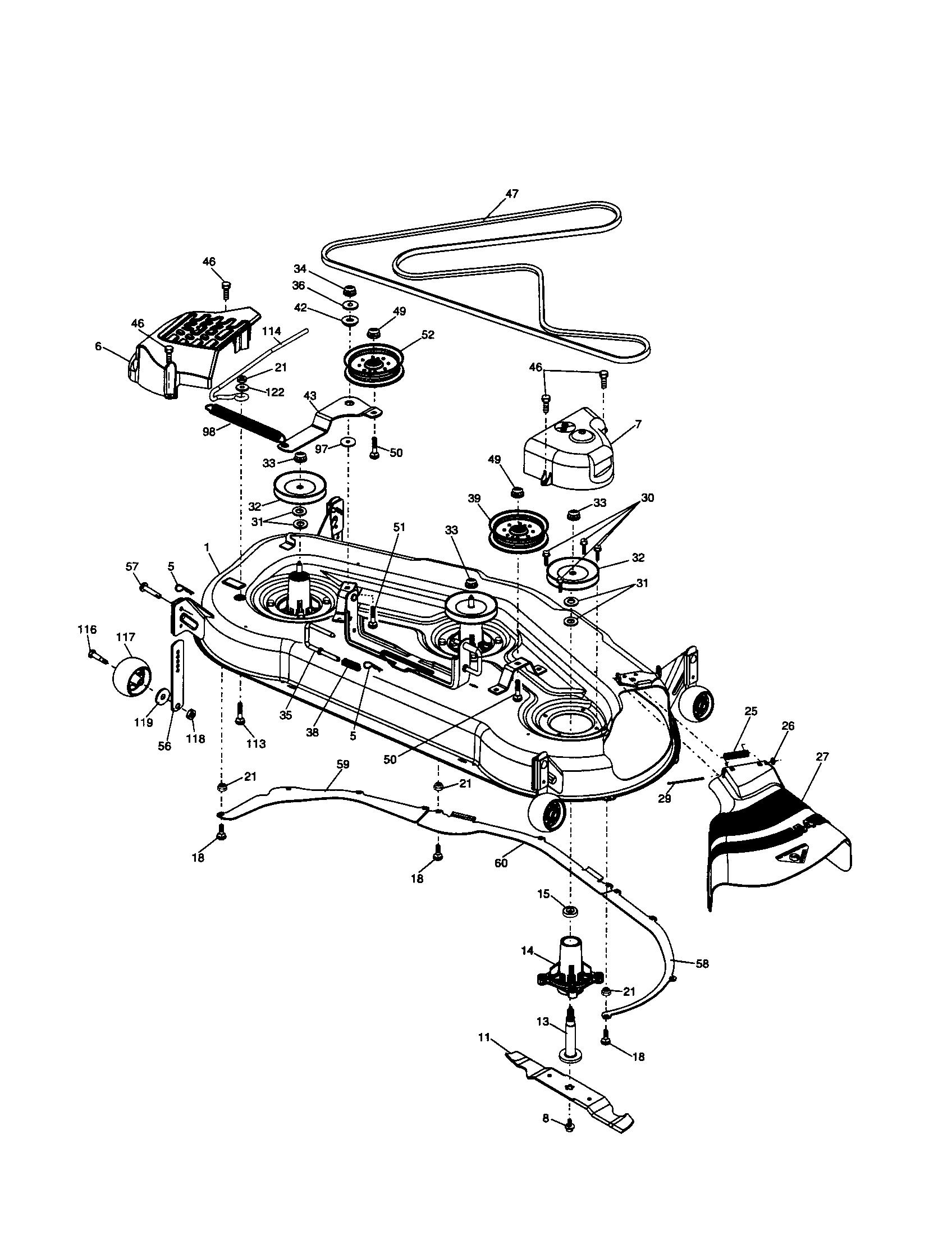 husqvarna lawn mower parts diagram vw lupo wiring riding best library model gt2254 tractor genuine rh searspartsdirect com z4217 schematics 52