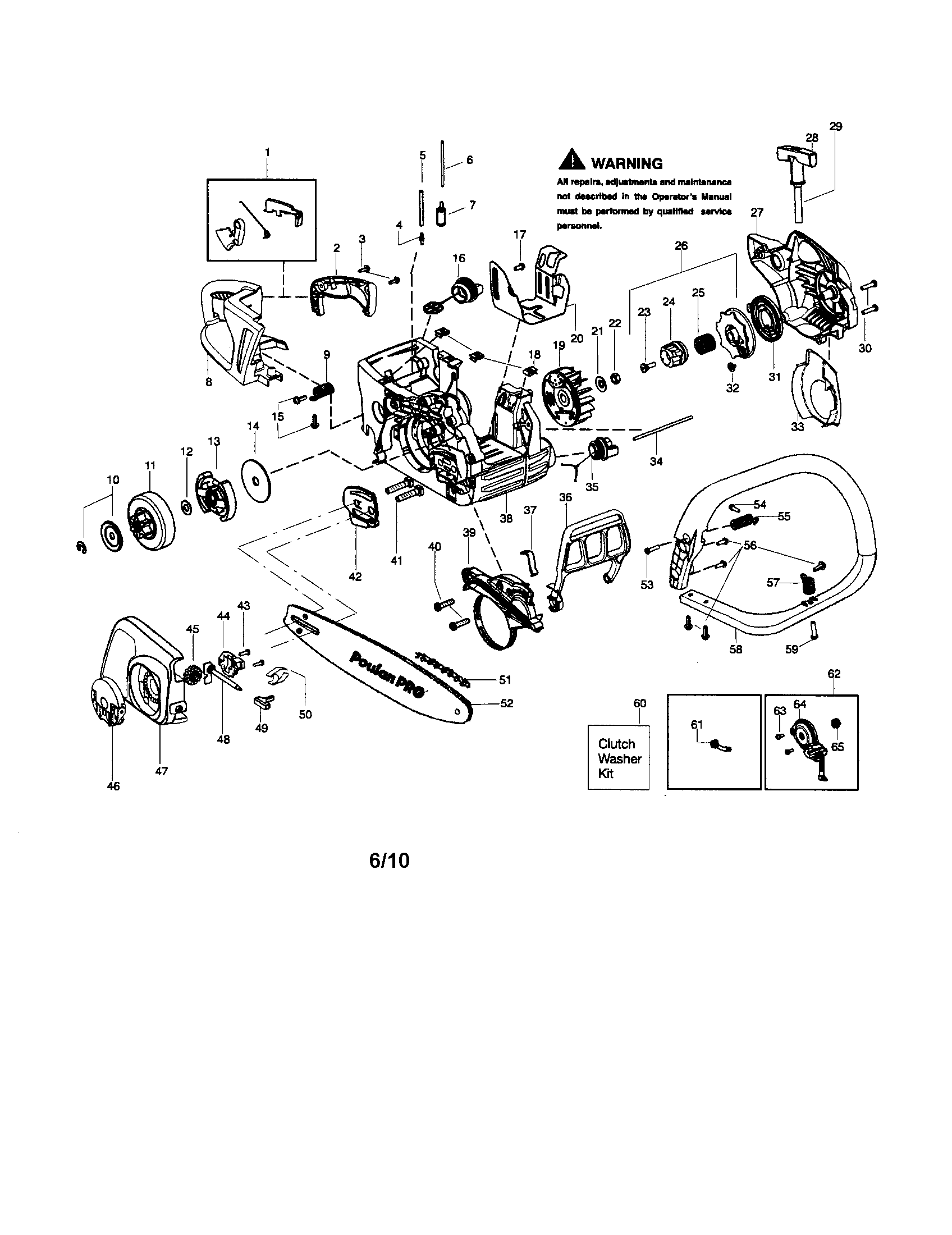 Poulan Pp4218avx Chainsaw Diagram, Poulan, Free Engine