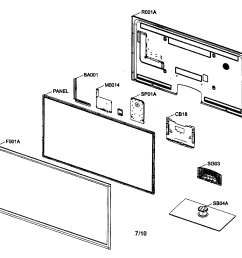 led tv diagram and parts list for samsung televisionparts model tv wiring diagram components [ 2200 x 1696 Pixel ]