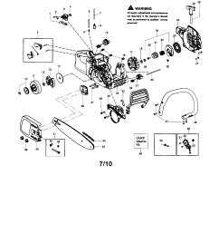 mcculloch mc3516 chassis bar handle chain diagram [ 1696 x 2200 Pixel ]