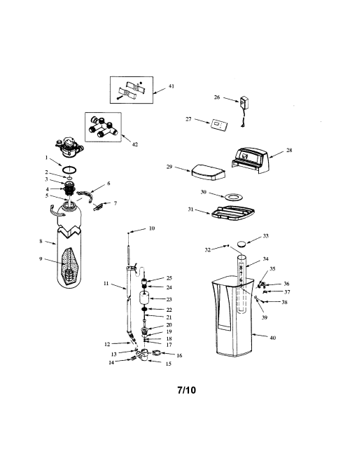 small resolution of whirlpool whes30 resin brine tanks top cover diagram
