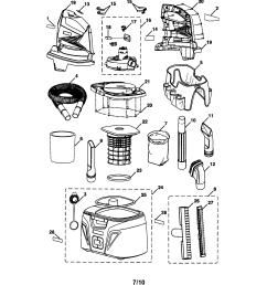 craftsman 315175980 shop vac diagram [ 1696 x 2200 Pixel ]