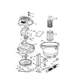 looking for craftsman model 113177650 wet dry vacuum repair on  [ 1696 x 2200 Pixel ]