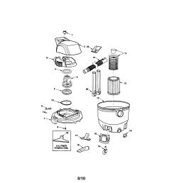 craftsman 113179650 wet dry vac diagram [ 1710 x 2212 Pixel ]