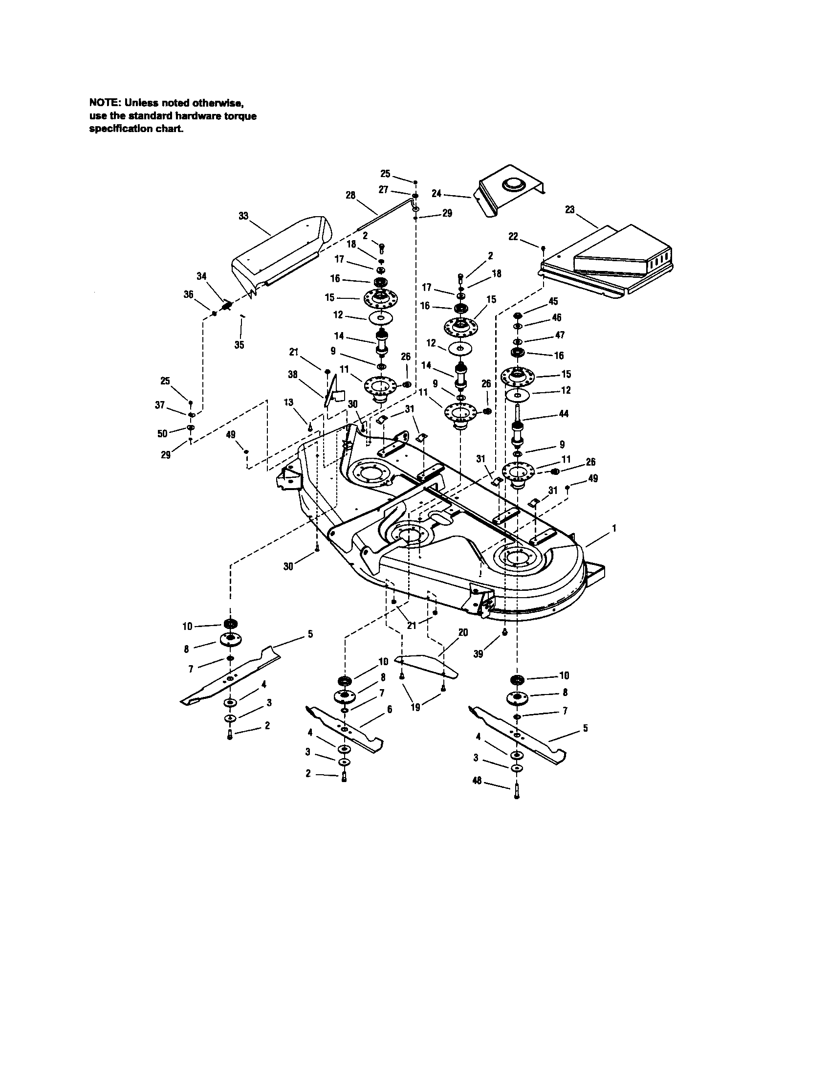 Craftsman 54 Mower Deck Belt Diagram, Craftsman, Free