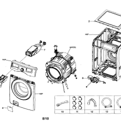 Front Load Washer Parts Diagram 7 Way Round Pin Trailer Wiring Samsung Get Free Image About