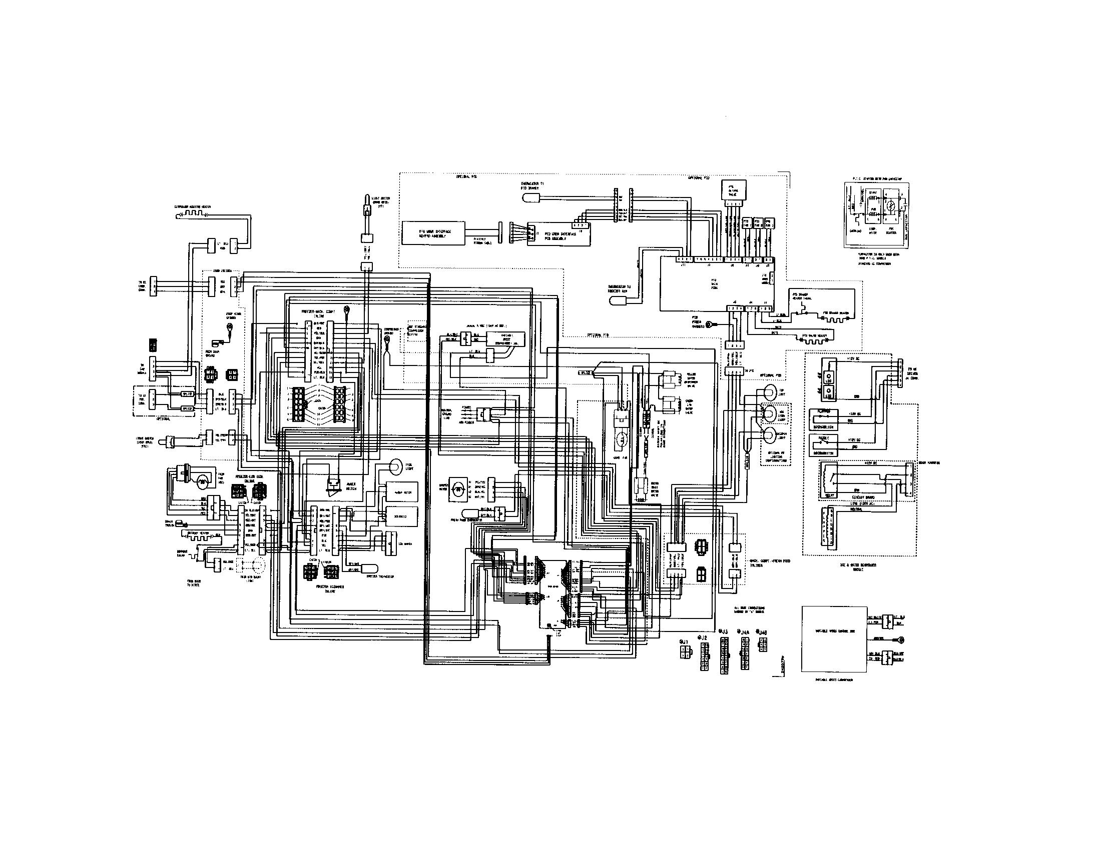 Refrigerators Parts: Frigidaire Refrigerator Parts Diagram