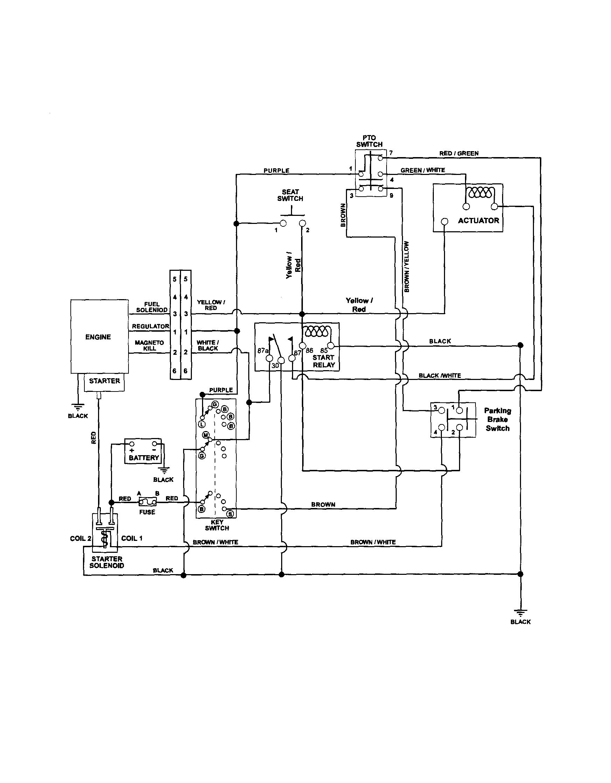 riding mower wiring diagram well pump switch murray  wirdig readingrat