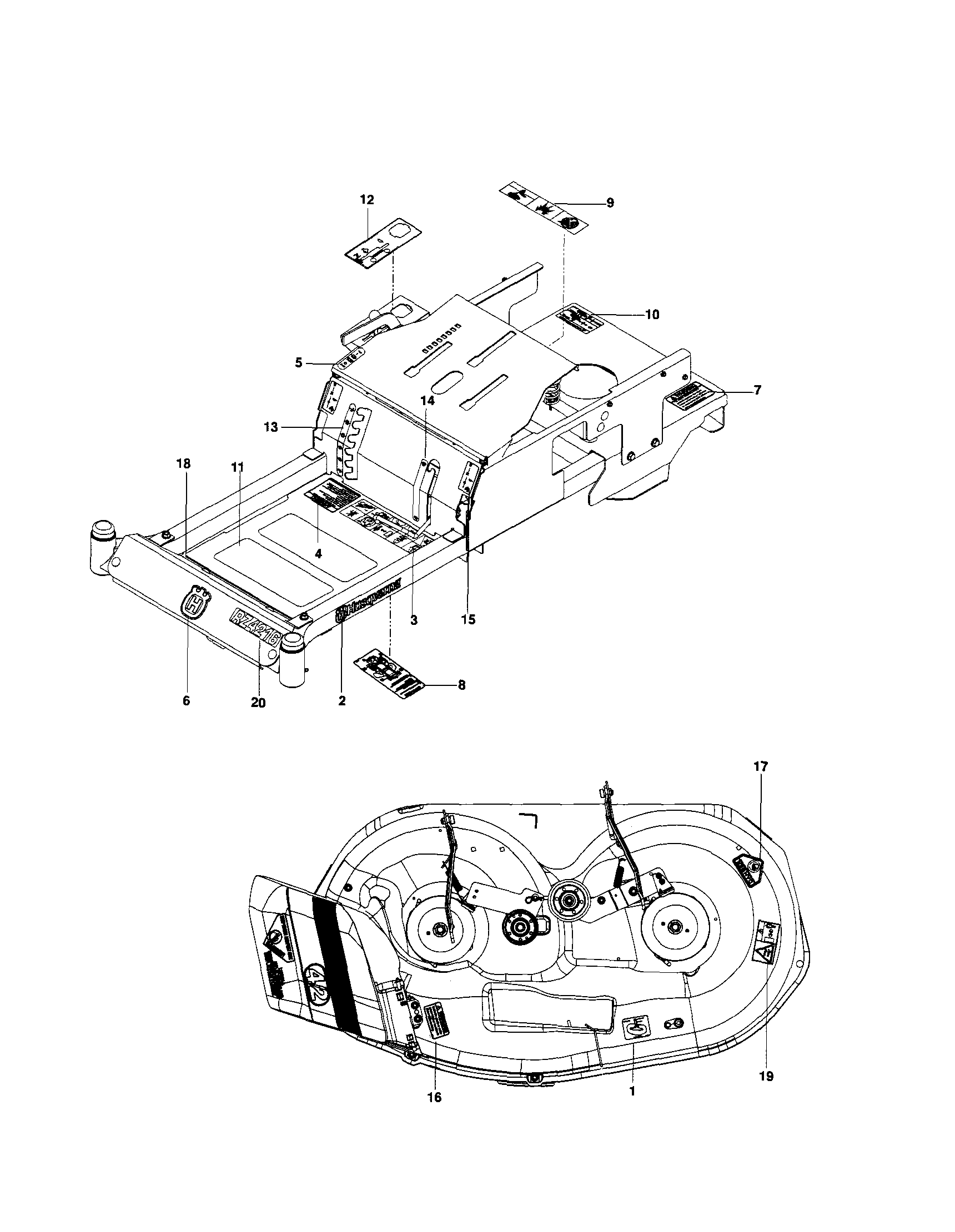 related with husqvarna rz 4615 wiring diagram