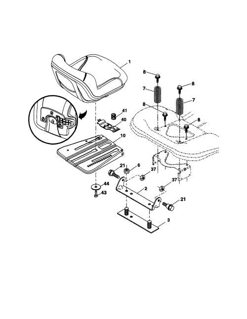small resolution of  looking for ariens model 93604200 front engine lawn tractor repair on new holland wiring diagram