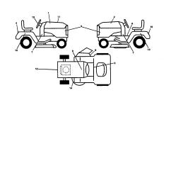 ariens 93604200 decals diagram [ 1696 x 2200 Pixel ]