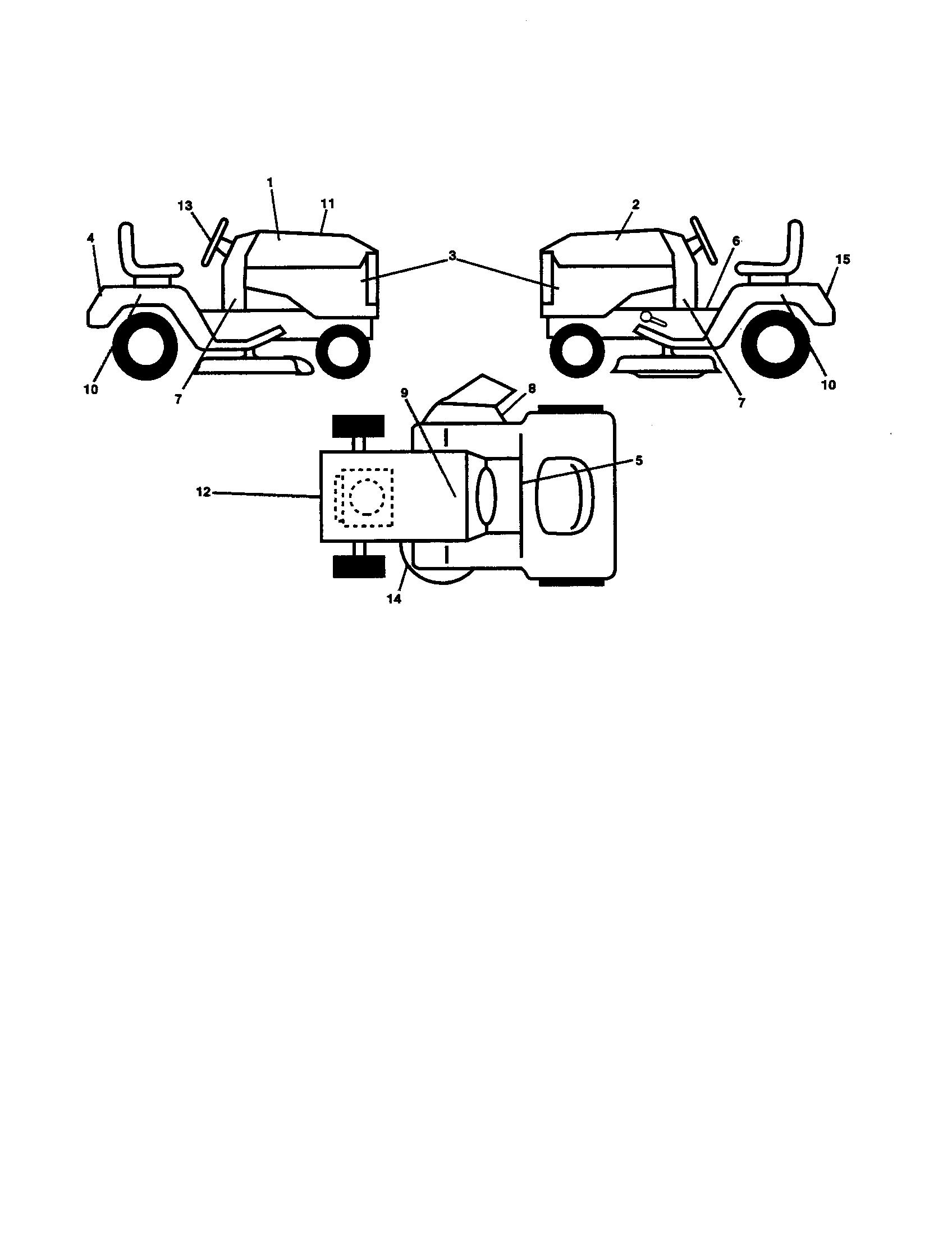 hight resolution of ariens 93604200 decals diagram