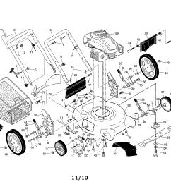 looking for ariens model 96136000602 gas walk behind mower repairariens 96136000602 lawn mower diagram [ 3300 x 2550 Pixel ]